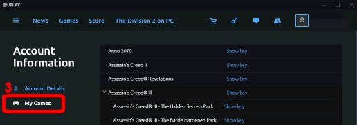UPlay game prompts for CD-key on starting – Fanatical com Customer