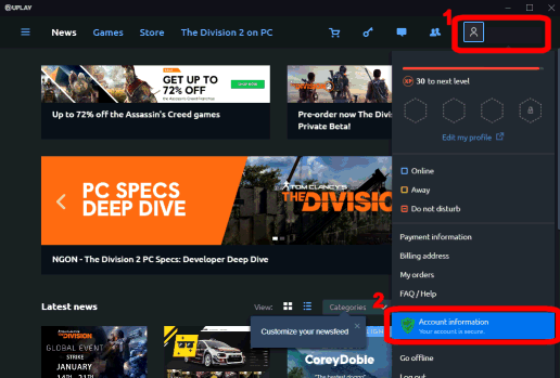 Uplay Games List