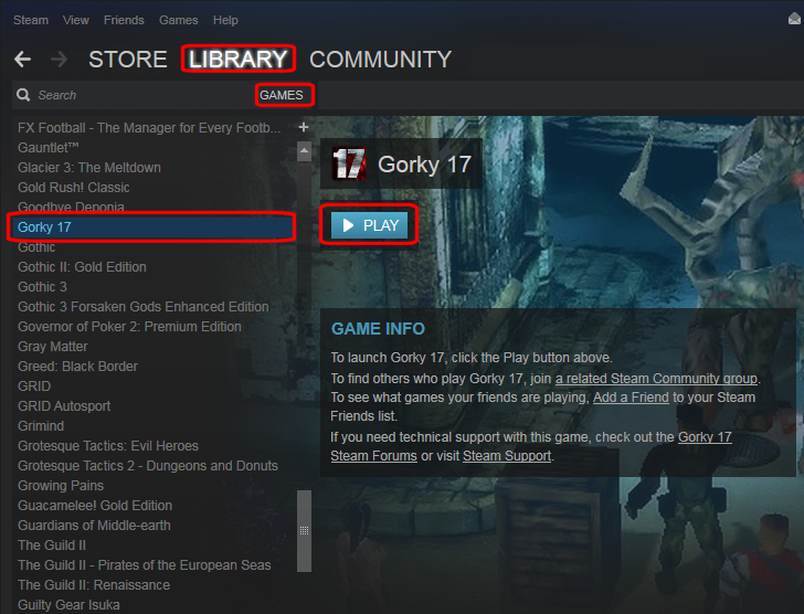 How do I Activate, Download and Play my games in Steam