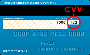 What Is The Cvv Cvc Number Requested When Paying By Credit Debit